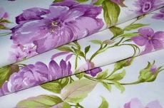 С цветочным рисунком