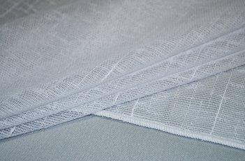 Гардина NATURAL белого цвета шириной 5 метров