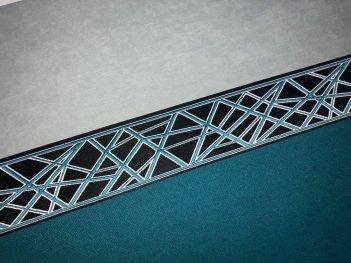 Декор для штор - текстильные бордюры