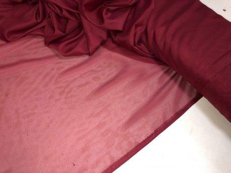 Гардина КРЕП вишневый 14 недорого