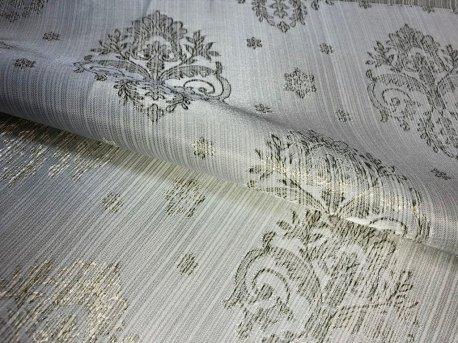 Ткань шторная МАРКИЗА, цвет светло салатовый недорого