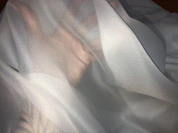 Однотонный тюль BASE цвета off white