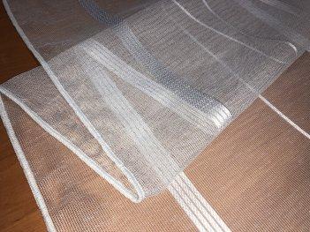 Сетка с полосой MAKARA  белая