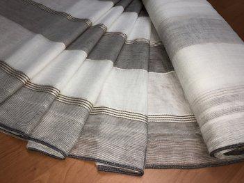 Тюль MAKARA цвета мокрый асфальт