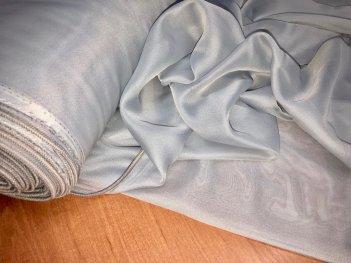 Однотонный тюль BASE серый