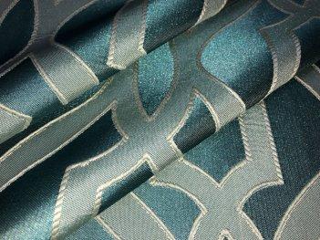 Ткань шторная RACE, цвет бирюзовый