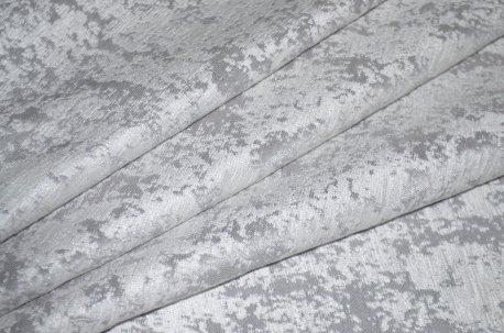 """Ткань для штор и мебели """"Фортуна"""" светло серый однотонный недорого"""