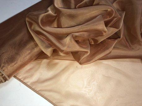 Микровуаль БИРКАН коричневая 13789 недорого