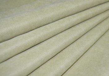 Готовая штора из ткани DIAMОND салатовый, ширина 2 метра