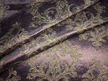 Портьера DAMASK фиолетового цвета