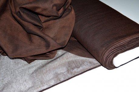 Тонкая матовая сеточка темно-коричневого цвета недорого