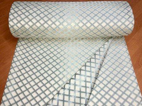 Портьера MIRAY ромб, цвет бирюзовый 103 недорого