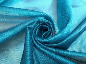 Тюль RUBY насыщенно - бирюзового цвета  209