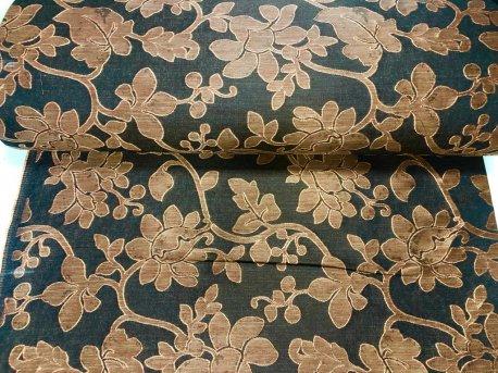 Портьера БЕЛИНА терракотово коричневая недорого