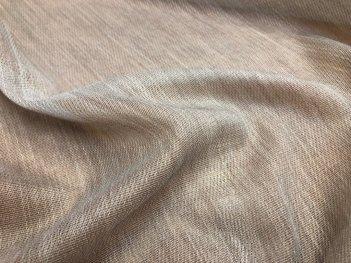 Гардина ANNET 2990 цвета какао V-05