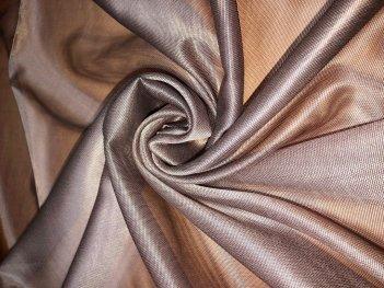 Тюль RUBY цвета какао  205