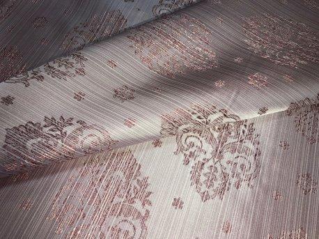 Шторная ткань МАРКИЗА светло розового цвета недорого
