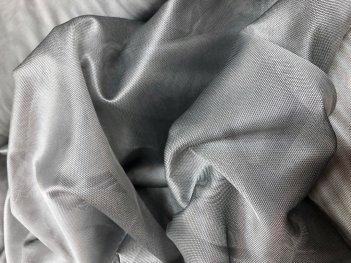 Тюль RUBY стального цвета  208