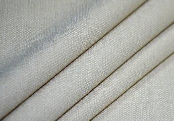 Готовые шторы SPARTA KETEN светло - бежевого цвета  (2 шт х 1,5 м)
