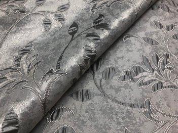 Портьера LIANA серого цвета