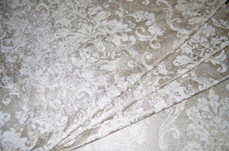 """Ткань для штор и мебели """"Фортуна"""" светло оливковый узор недорого"""