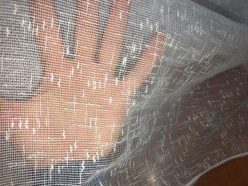 Тюль CAPITAL под лен молочного цвета цвета 3253