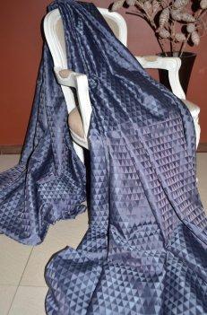 """Ткань для штор """"Траянгл"""" цвет синий"""