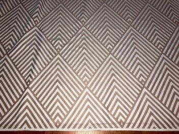 Гардина MODERN с геометрическим рисунком, 1544/1