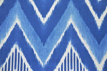 """Ткань """"Bromo"""" сине-голубая недорого"""