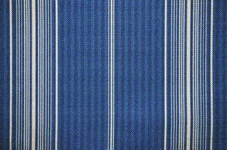 """Ткань в полоску """"Sailor Stripe"""" синяя недорого"""
