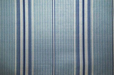 """Ткань в полоску """"Sailor Stripe"""" голубая недорого"""