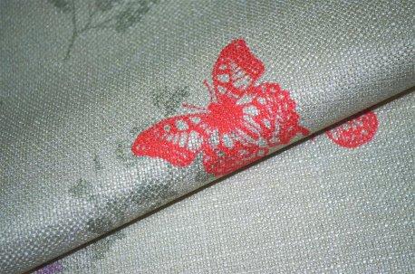 "Шторная ткань ""Mariposa"" розовая недорого"