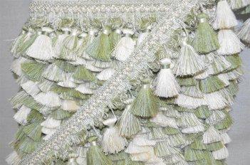 Бахрома для штор цвет мятный