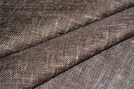 """Ткань для штор """"Невада"""", цвет коричневый недорого"""