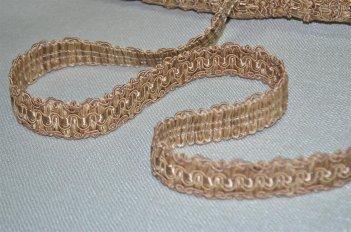 Тесьма декоративная цвет какао