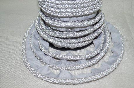 Шнур тонкий цвет серебро недорого