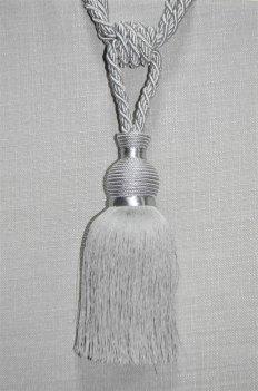 Кисть для штор цвет серебро