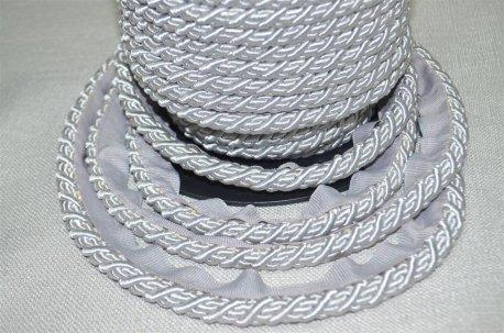Шнур толстый цвет серебро недорого