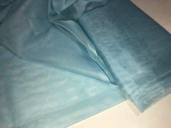 Капрон бирюзово - голубой 11111