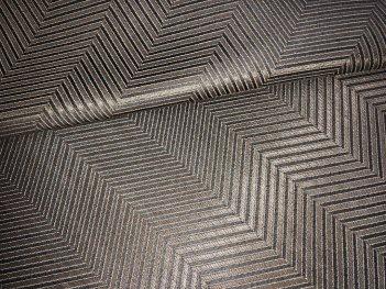 Портьера MIRAY елочка, цвет серо-коричневый 2502