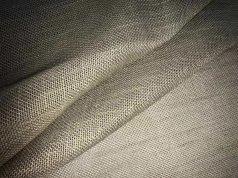 Римская штора льняного цвета из ткани под натурал