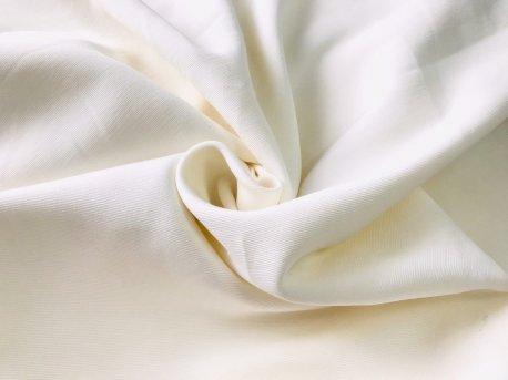 Однотонная плотная ткань молочного цвета недорого