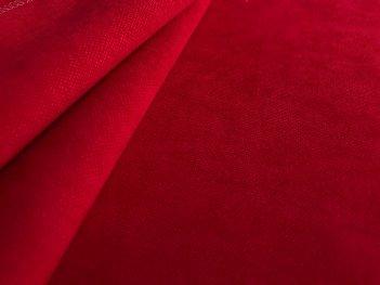 Портьера Даймонд красная