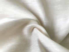 Тюль Батист кремового цвета