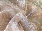 Органза персикового цвета глянцевая