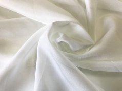 Тюль однотонный Креп цвета айвори