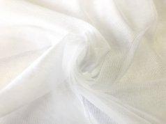 Тюль белая под натуральную