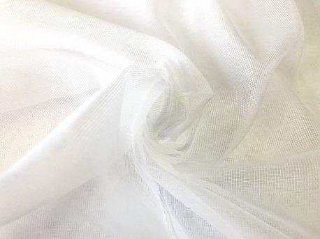 Тюль белая под натуральную недорого