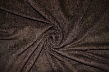 """Портьера """"Софт"""" темно коричневый"""