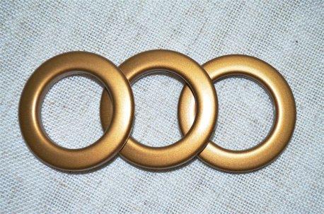 Люверсы круглые 35 мм, антик матовый недорого